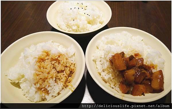 豬油拌飯&滷肉飯
