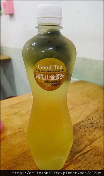 冷泡金萱茶