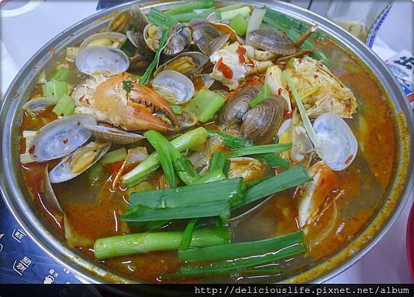 大辣花甲蟹鍋