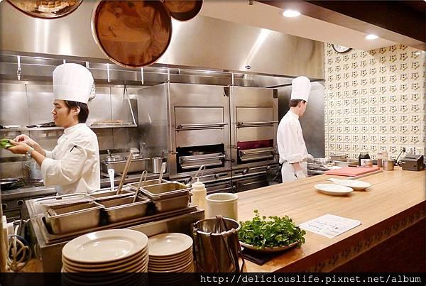 開放式烹飪區