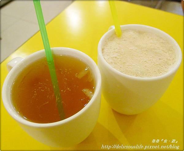 茉香綠茶&特調奶茶30+35