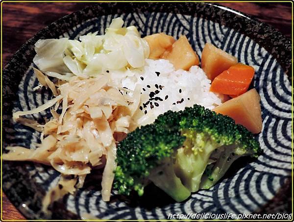烤竹筴魚餐190