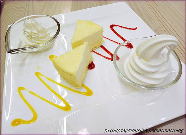 粉雪乳酪蛋糕230