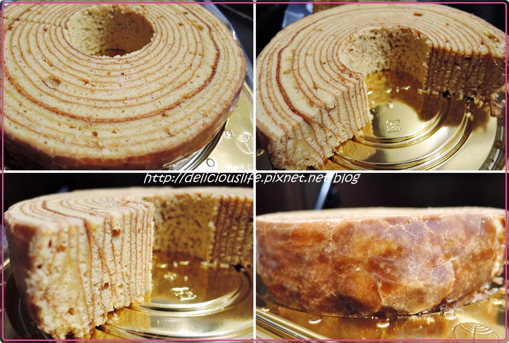 FUKUGIYA黑糖年輪蛋糕