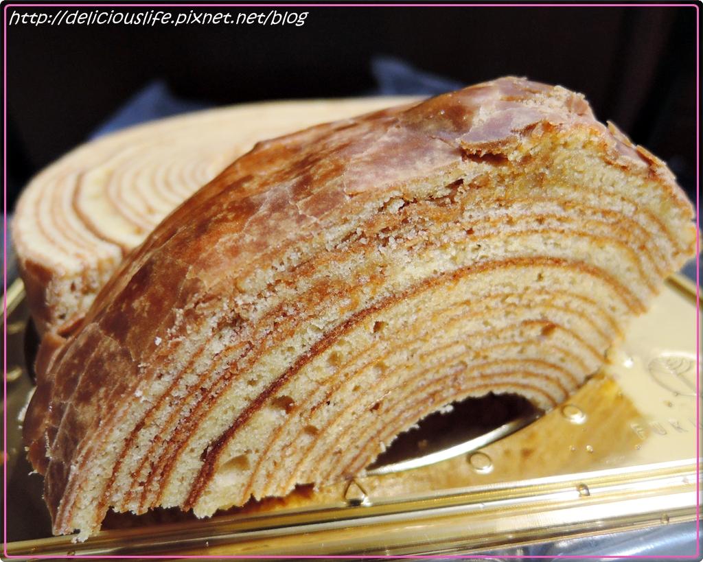 FUKUGIYA黑糖年輪蛋糕1