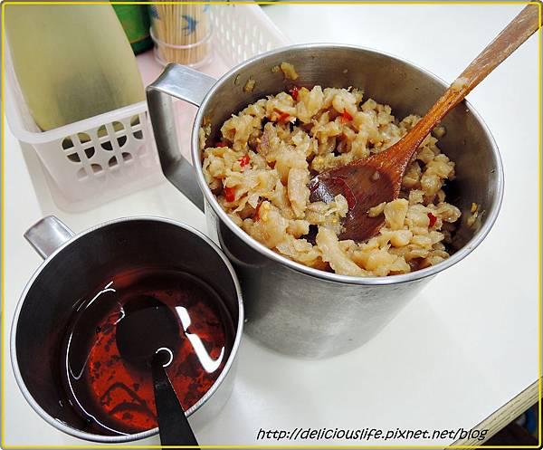 辣油&蘿蔔乾