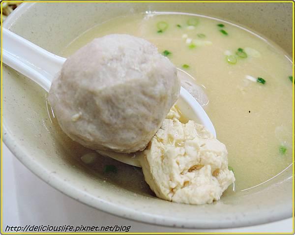 味噌貢丸湯1