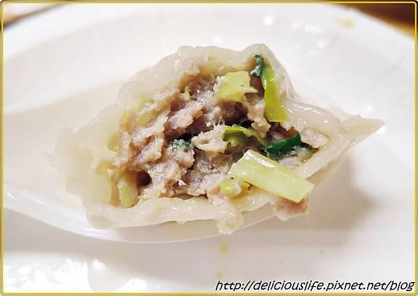 韭黃水餃2