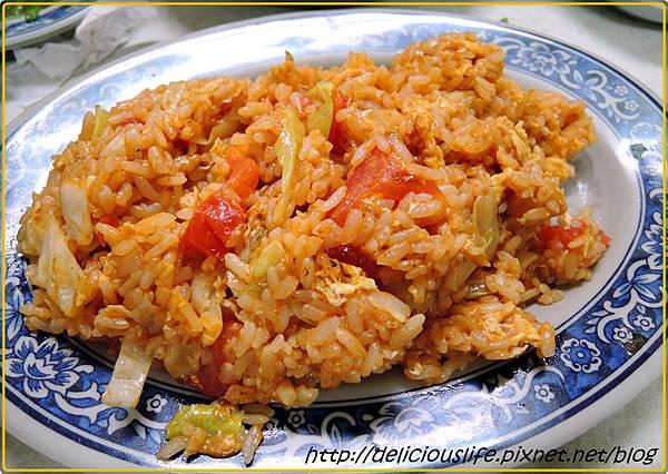 蕃茄蛋炒飯1