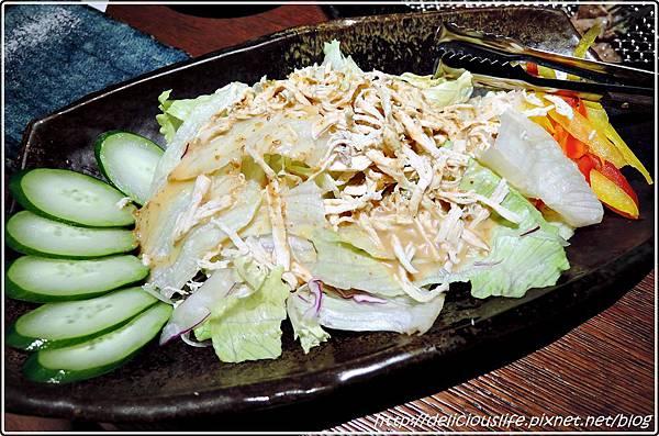 芝麻雞絲沙拉120