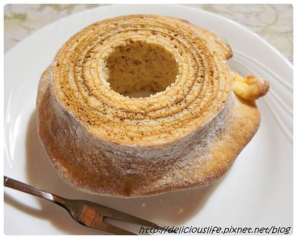 朝日糖霜年輪蛋糕2