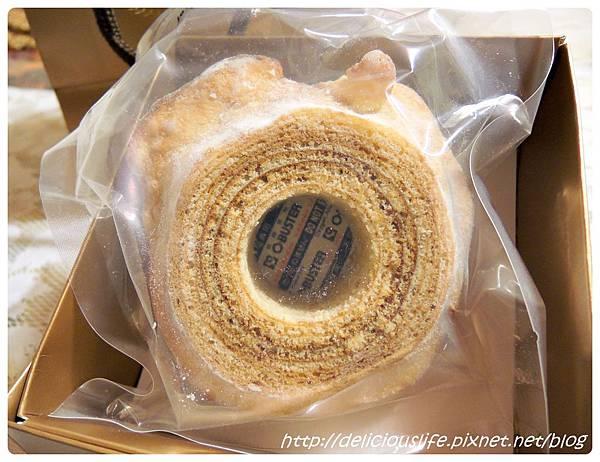 朝日糖霜年輪蛋糕1