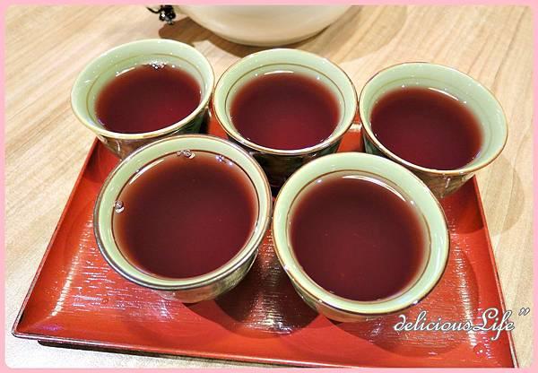 招待洛神茶