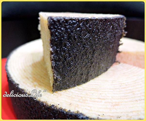 黑芝麻年輪蛋糕5