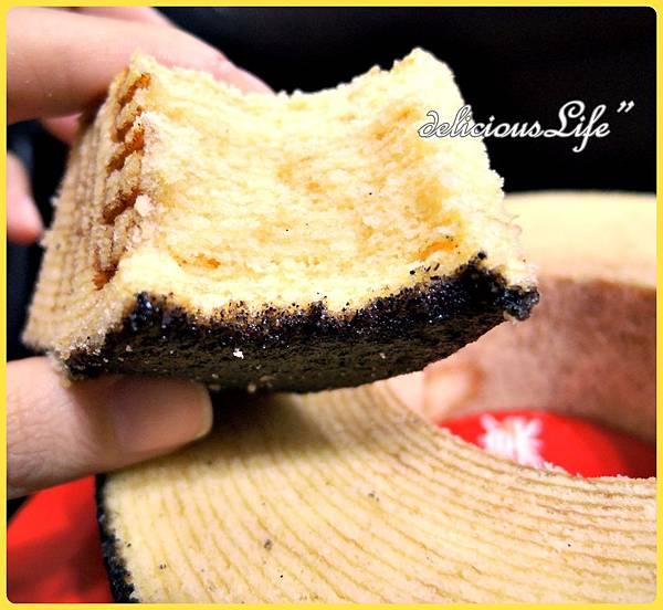 黑芝麻年輪蛋糕7