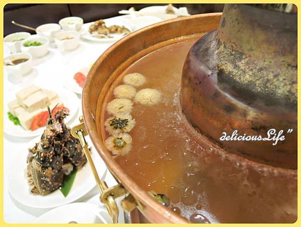 菊花鍋湯頭2