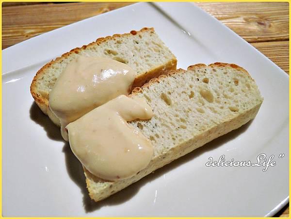 佛卡夏麵包+巧達起司花生醬