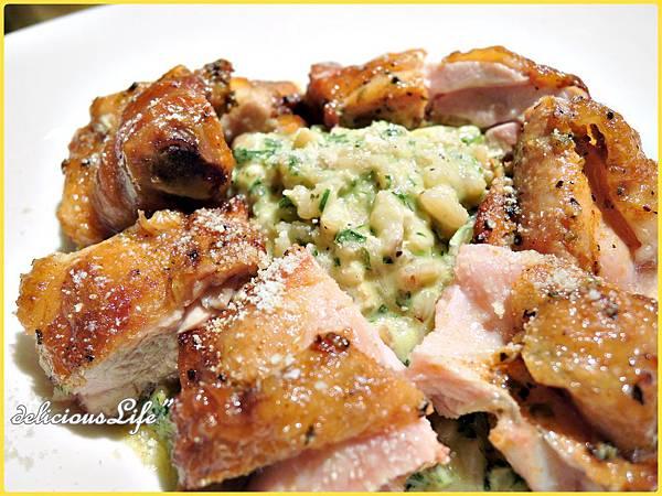 農民風羅勒野雞燉飯1