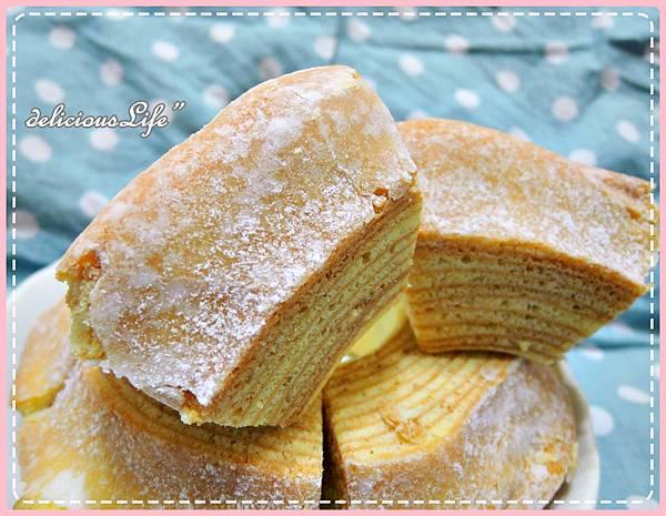 原味糖霜年輪蛋糕7