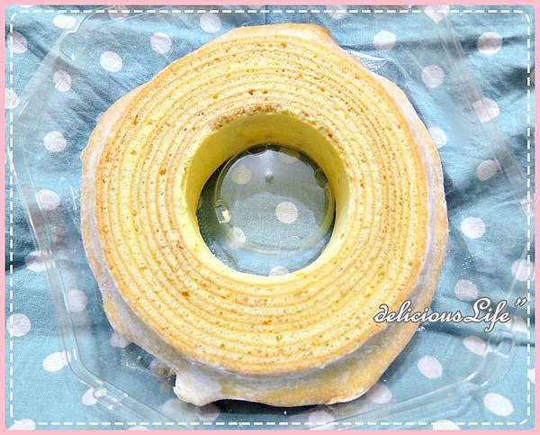 原味糖霜年輪蛋糕2