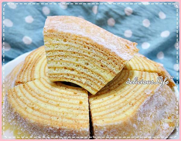 原味糖霜年輪蛋糕5