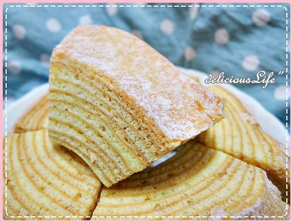 原味糖霜年輪蛋糕6