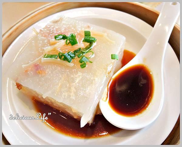 瑤柱晶瑩蘿蔔糕15rmb