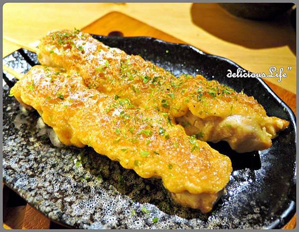 明太子雞肉串140