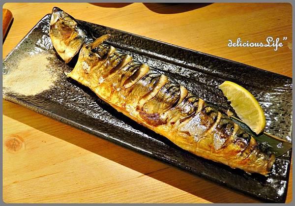 鹽烤鯖魚180