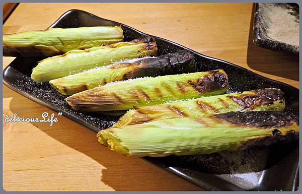 帶殼玉米筍120