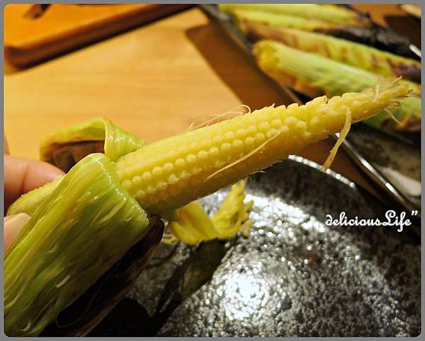 帶殼玉米筍