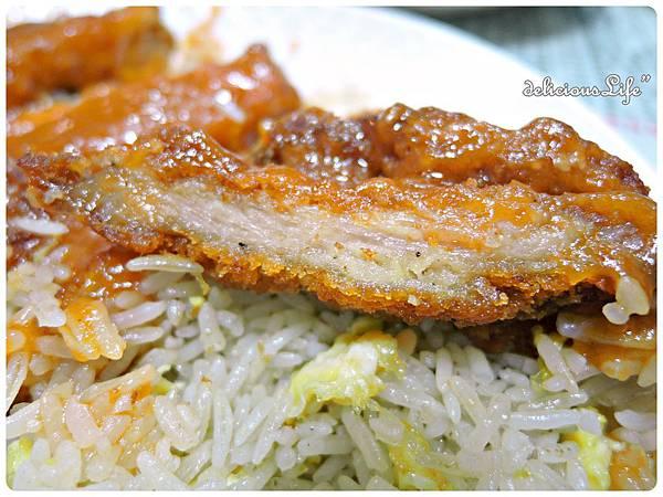茄汁豬扒飯炒底2
