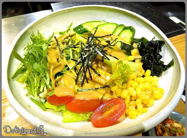 胡麻水菜豆腐沙拉180