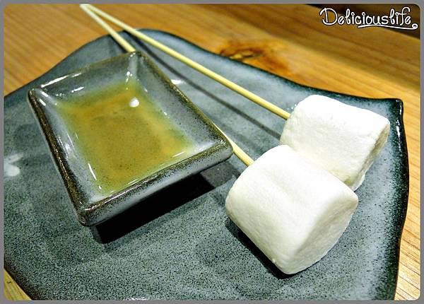 烤XO白蘭地棉花糖1