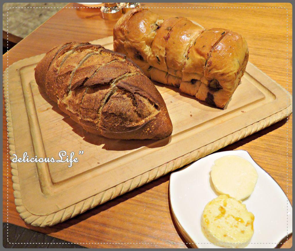 硬法國麵包&巧克力薄荷麵包