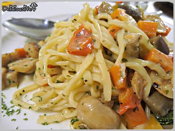大蒜辣椒蔬菜麵1