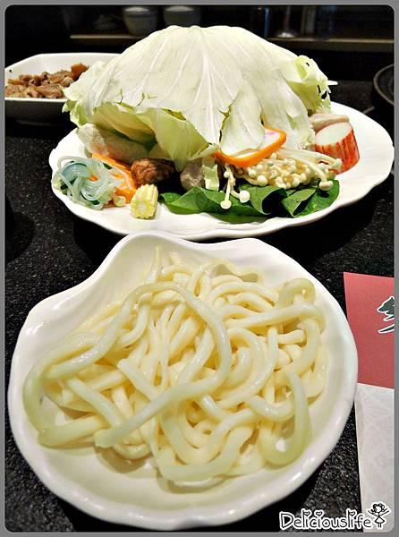 菜盤烏龍麵