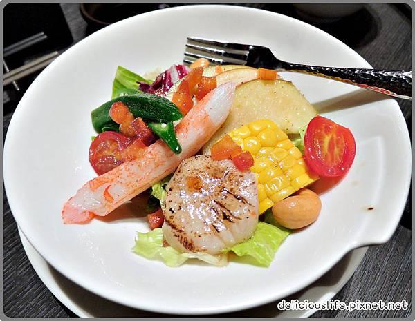 義式油醋醬海鮮沙拉