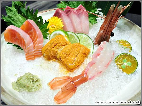 盛合生魚片1