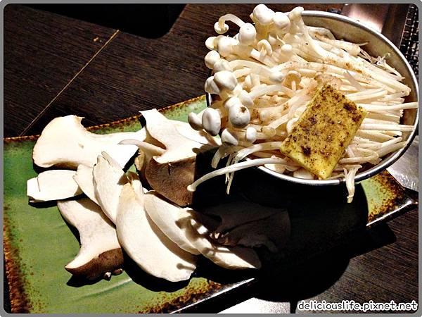 杏鮑菇,奶油金針菇