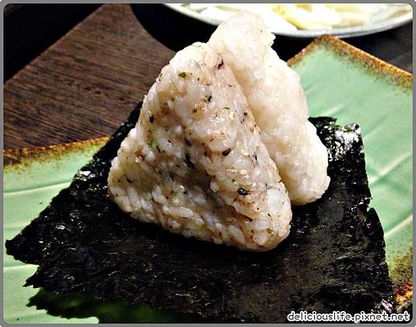 三味飯糰,海苔魚飯糰