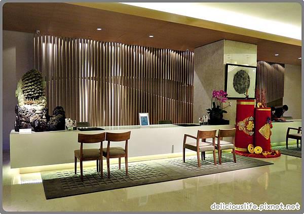 台中日月千禧酒店大廳2