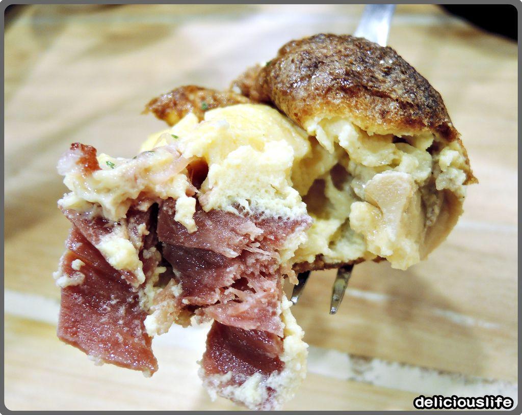 培根蘑菇烘蛋早午餐230-3