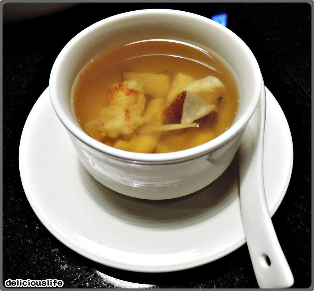 鐵板春曉套餐-海鮮清湯-1