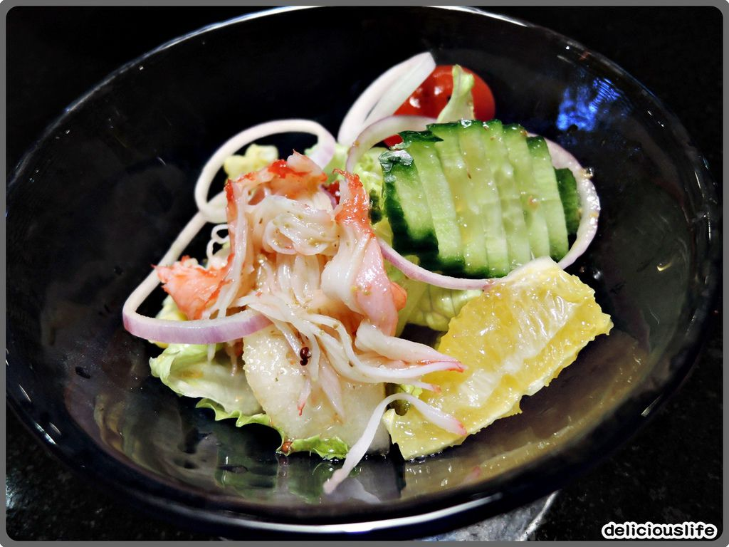 鐵板春曉套餐-日式和風沙拉