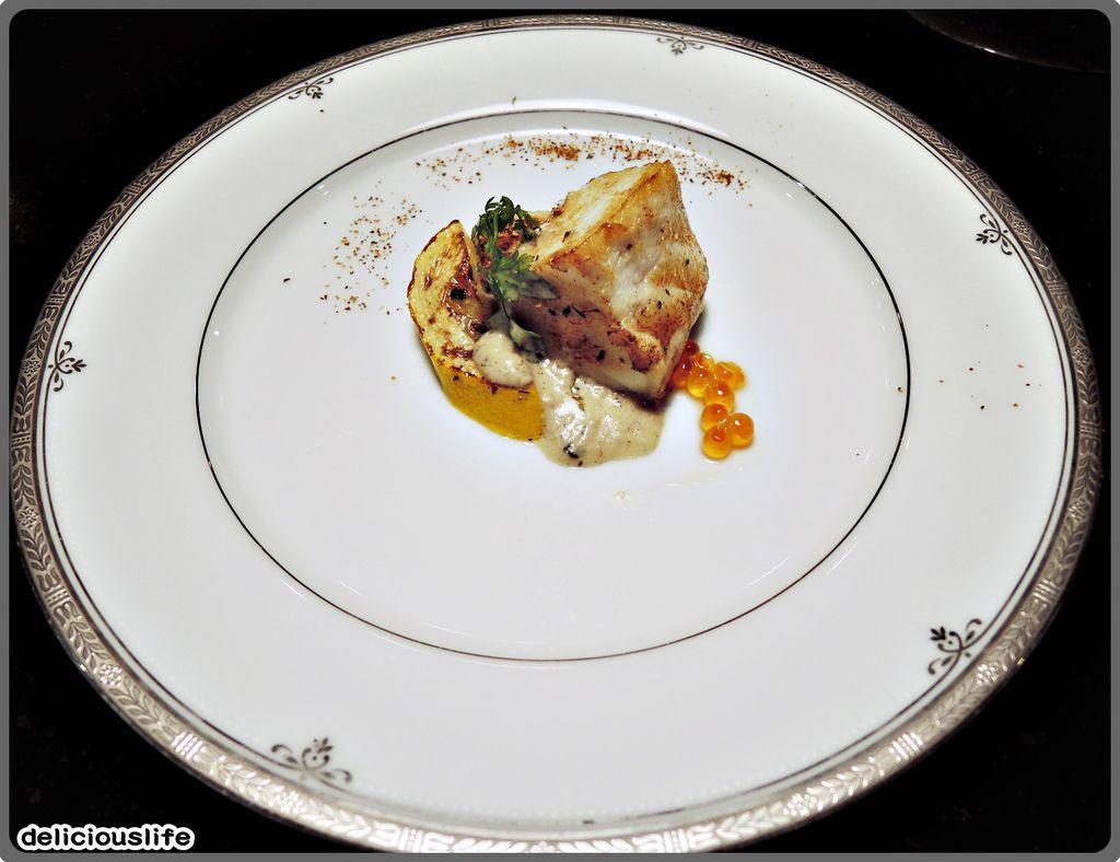 鐵板春曉套餐-深海鮮魚-1