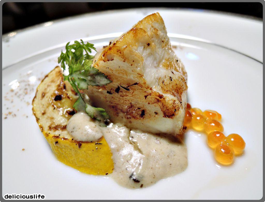 鐵板春曉套餐-深海鮮魚-2