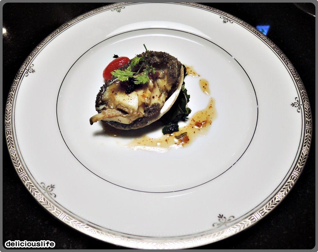 鐵板春曉套餐-活南非六頭鮑魚-1