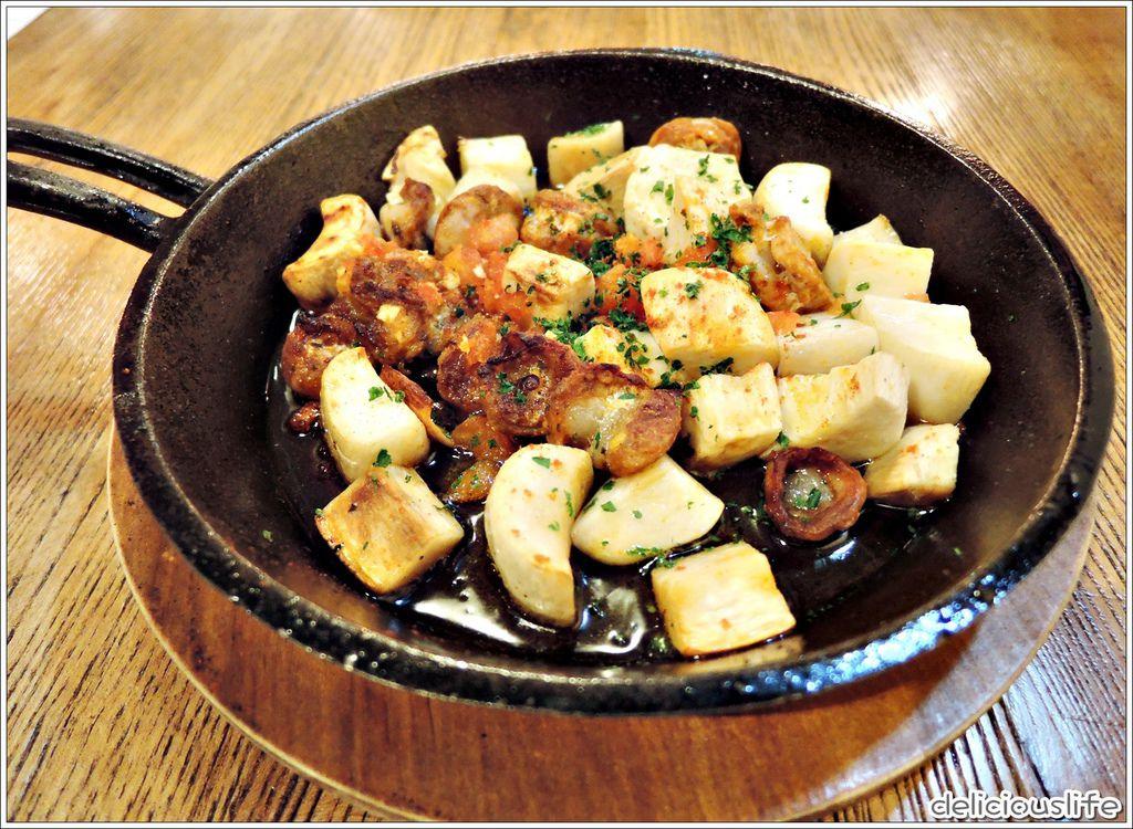 烤西班牙香腸與洋菇190-1