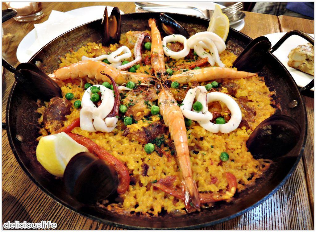 經典西班牙海鮮飯780-1